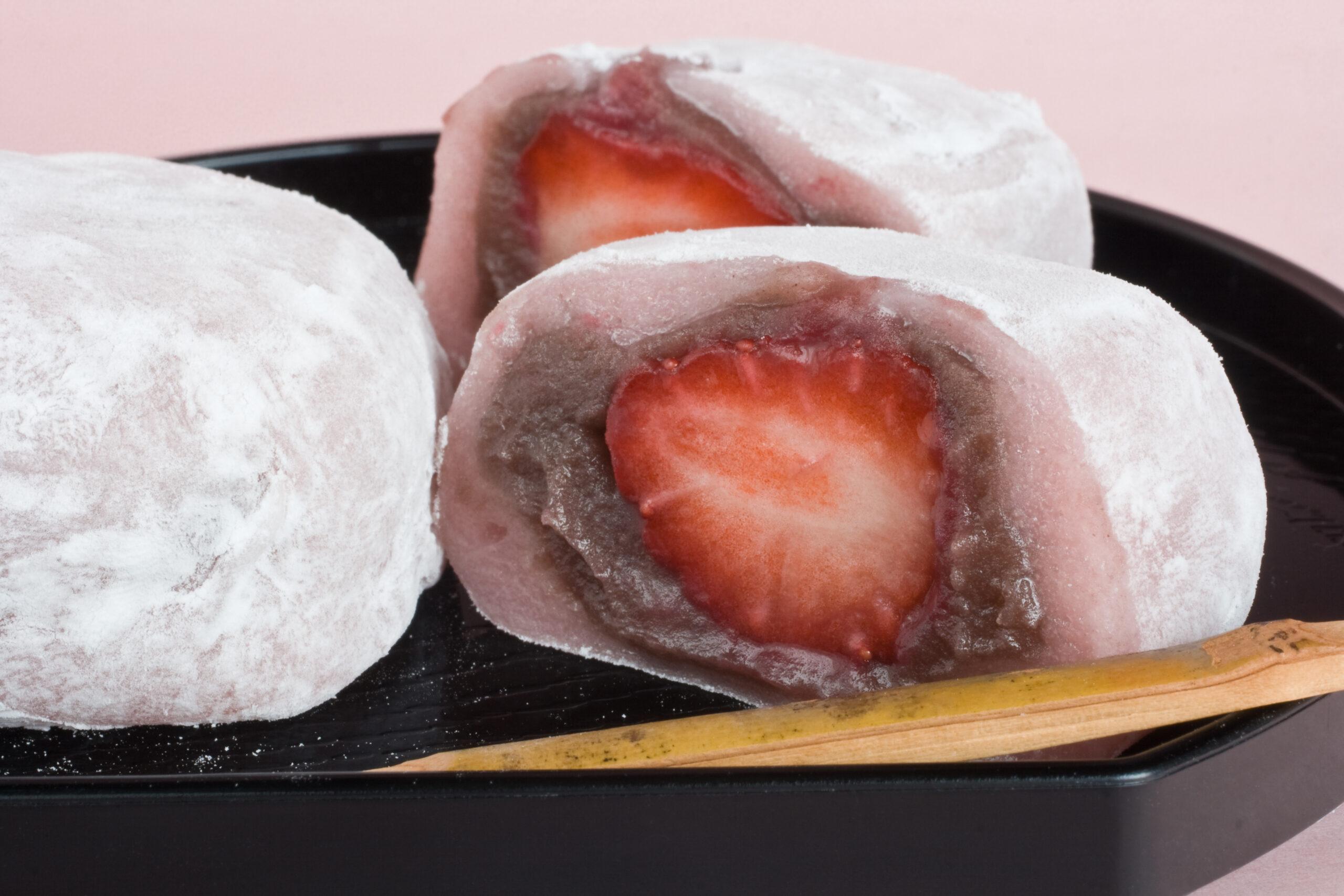 """5/24(金)料理教室で水野のイチゴを使った""""オーガニックいちご大福""""を作ります!"""