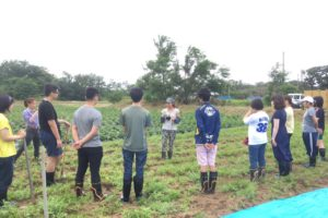 N高等学校【職業体験】高校生が自然栽培を学びに来てくれました!